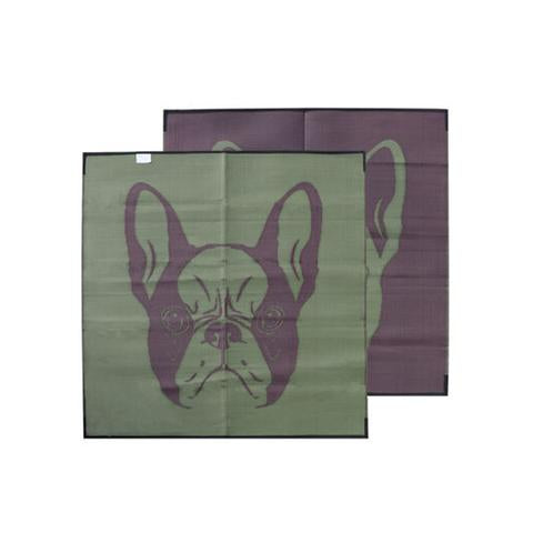 Brewster French Bulldog Recycled Plastic Mat