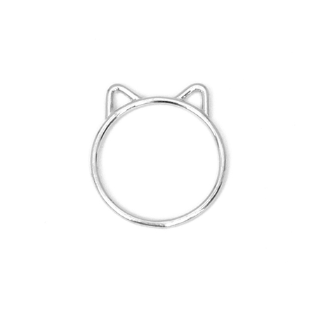 Cat Ring - Sølv