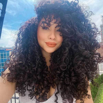 2020 summer new style fashion curly hair