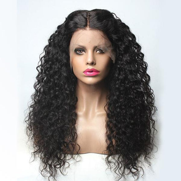 Long Curly | Japanese Fiber Lace Front Wig (Base Cap)