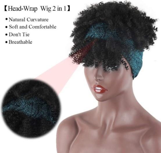 No Glue High Quality headband wig