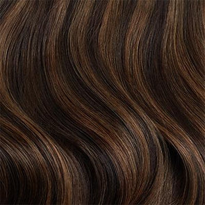 "20"" Dark Brown Highlights Ponytail - 20"" (120g)"