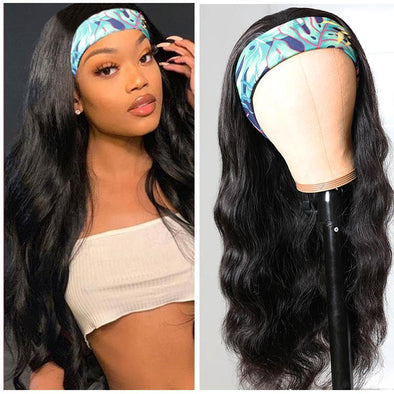 Body Wave Headband Wig *No Lace No Glue* Beginner Friendly & Convenient