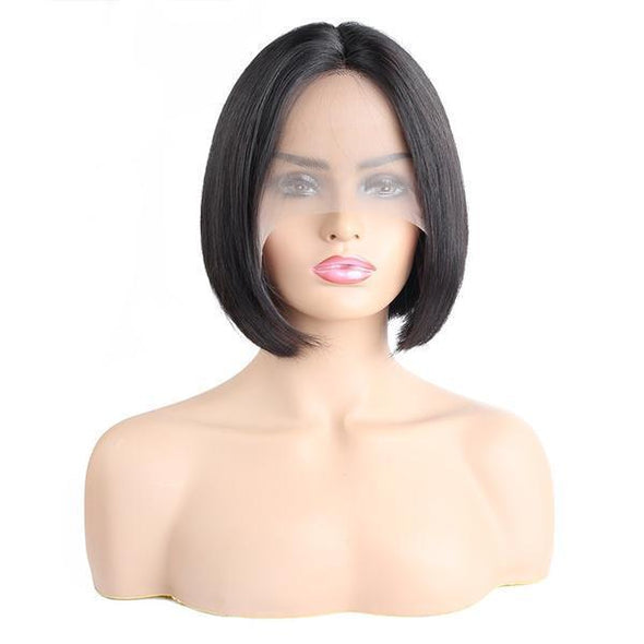 HIALILY Hair Straight Short Bob Wig Human Hair Wigs