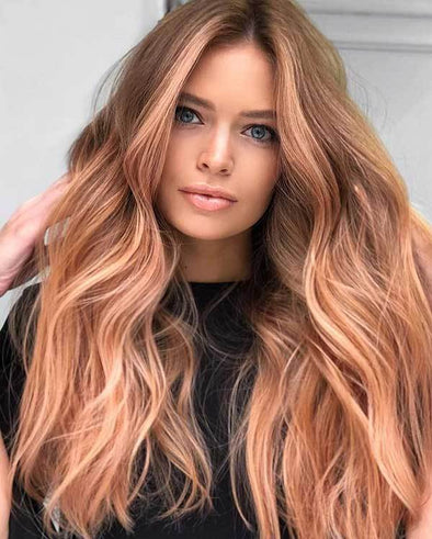 2020 summer light brown lace wig