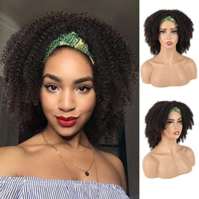 Short Afro Kinky Curly Wigs