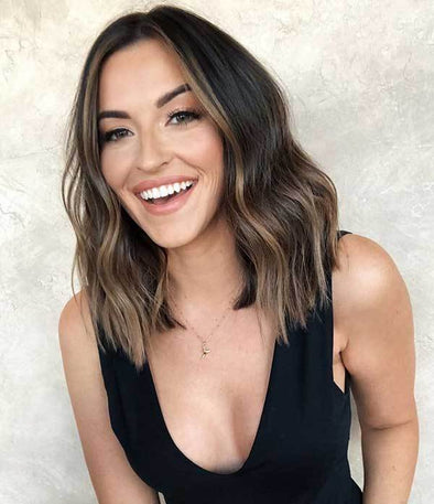 2020 summer fashion brown wig
