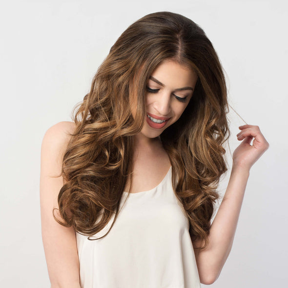 Luxy Hair Clip-In Hair Extensions Chestnut Brown