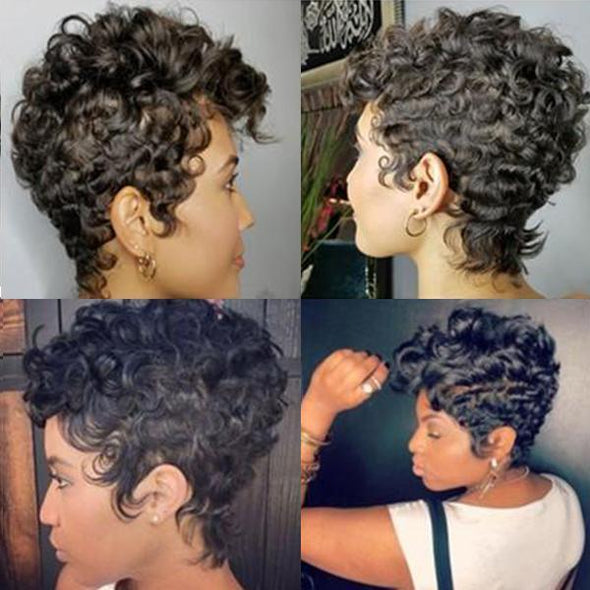 Best design | Beautiful Short Straight Hair Wig - 007