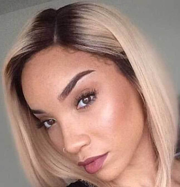 Blonde Bob Cut Virgin Brazilian—zizi