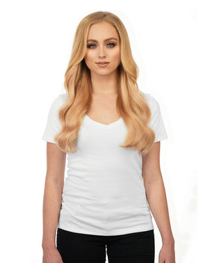"Seam hair piece 24"" Strawberry Blonde (27) Hair Extensions"