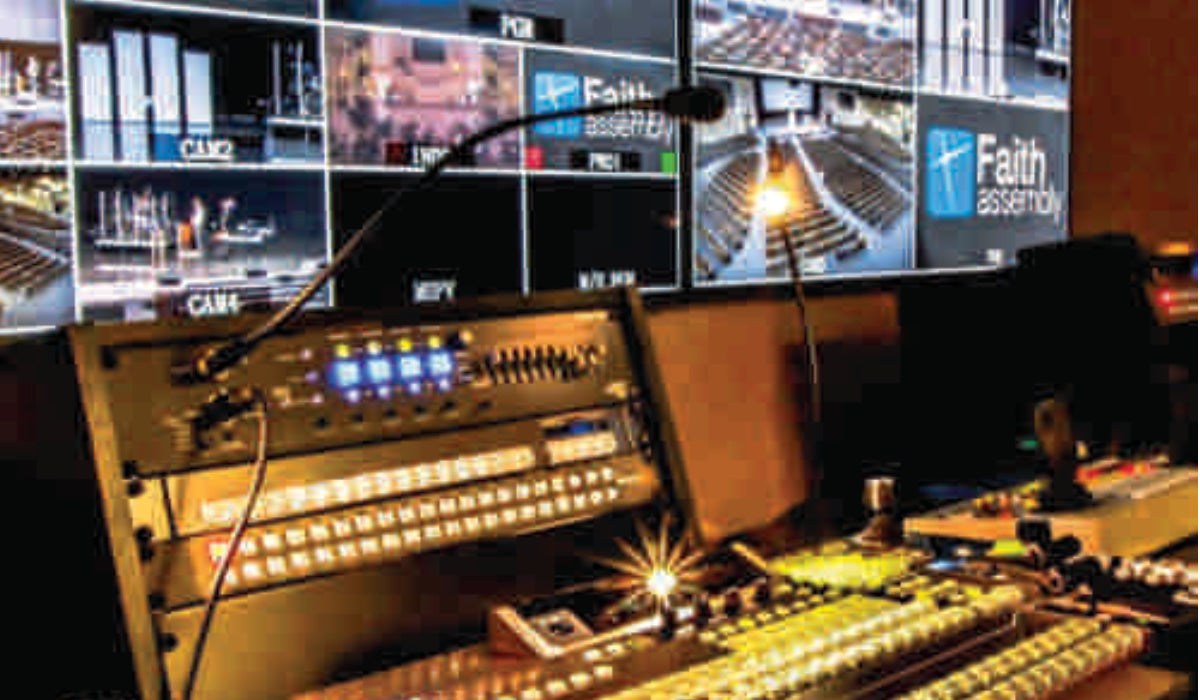 church live streaming equipment