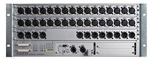 Soundcraft CSB 32-Input 8 Line+8 AES Out Compact Stagebox with Optical-fibre MADI Connectors (E947.351000)
