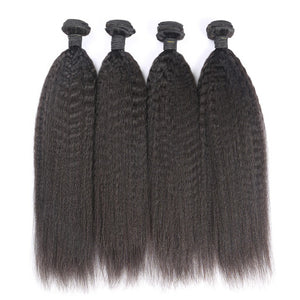 MINK KINKY STRAIGHT BUNDLE