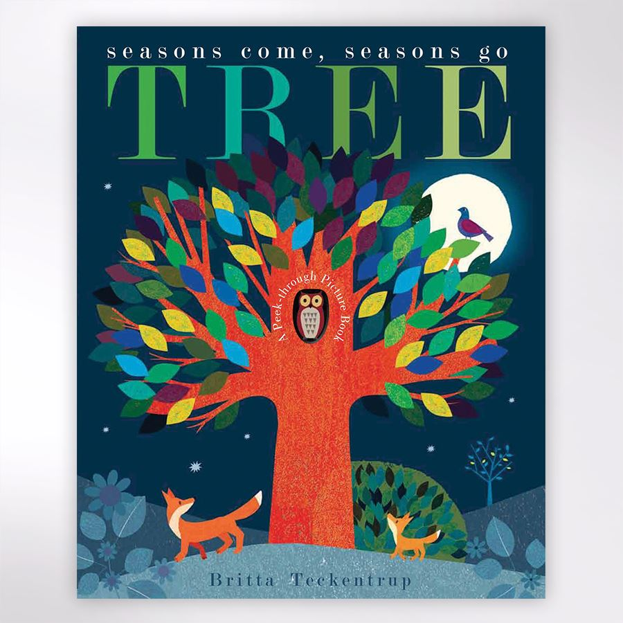 Tree Seasons Book by Britta Teckentrup