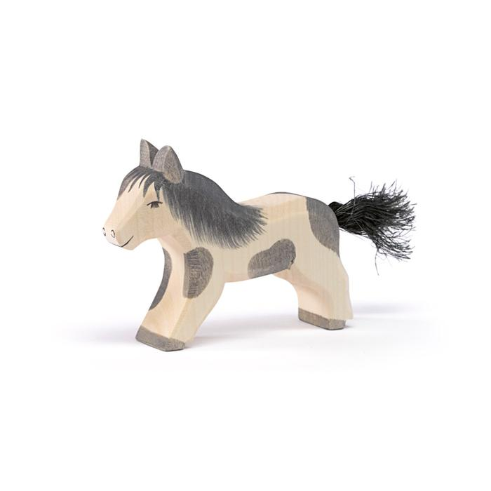 Ostheimer Shetland Pony Black and White at Little Sprout
