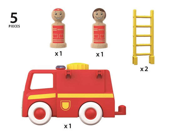 Brio 30383 - Light And Sound Firetruck