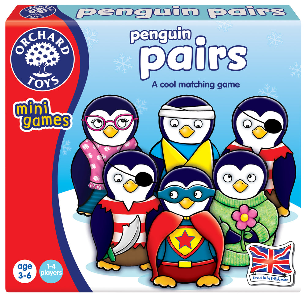 Orchard Toys - Mini Game Penguin Pairs