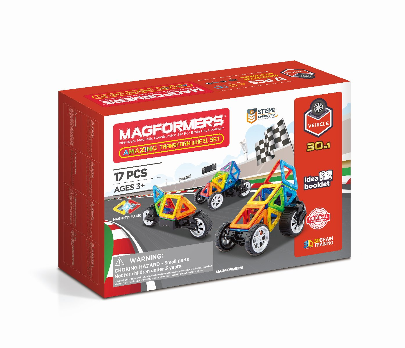 Magformers Amazing Transform Wheel Set 17 Pc