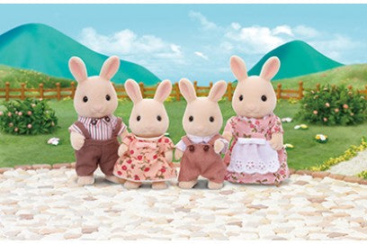 Sylvanian Families 4108 Milk Rabbit Family available at Little Sprout