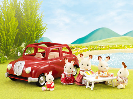 Sylvanian Families 4611 Family Saloon Car available at Little Sprout