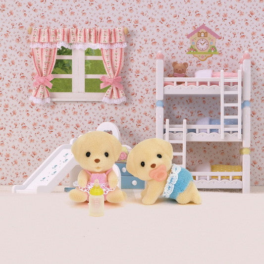 Sylvanian Families  Yellow Labrador Twins available at Little Sprout