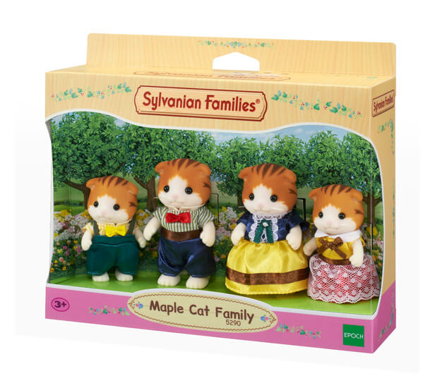 NEW Sylvanian Families Maple Cat Family available at Little Sprout