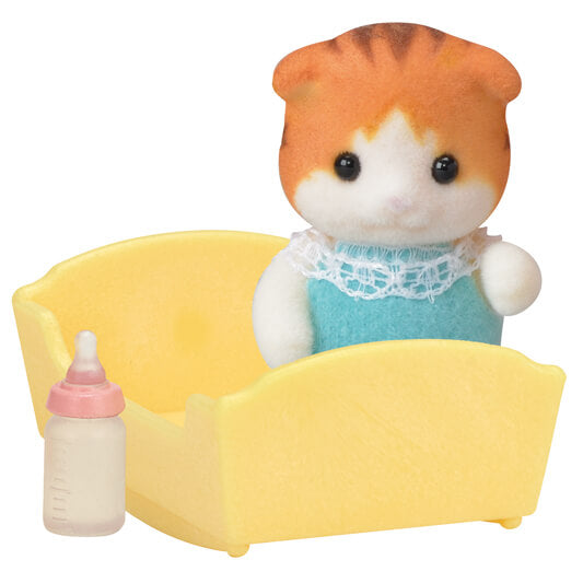 Sylvanian Families 5291 Maple Cat Baby available at Little Sprout