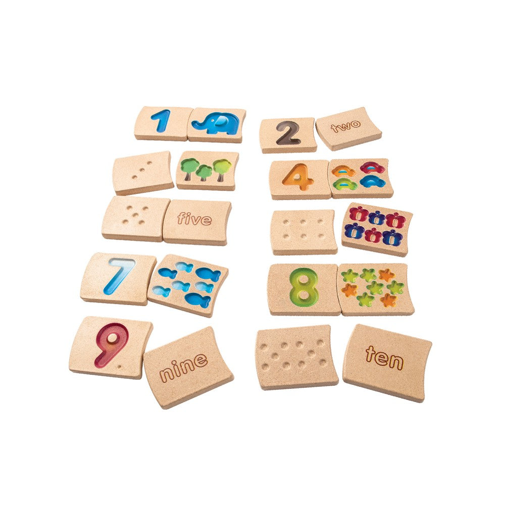 Plan Toys Wooden Numbers