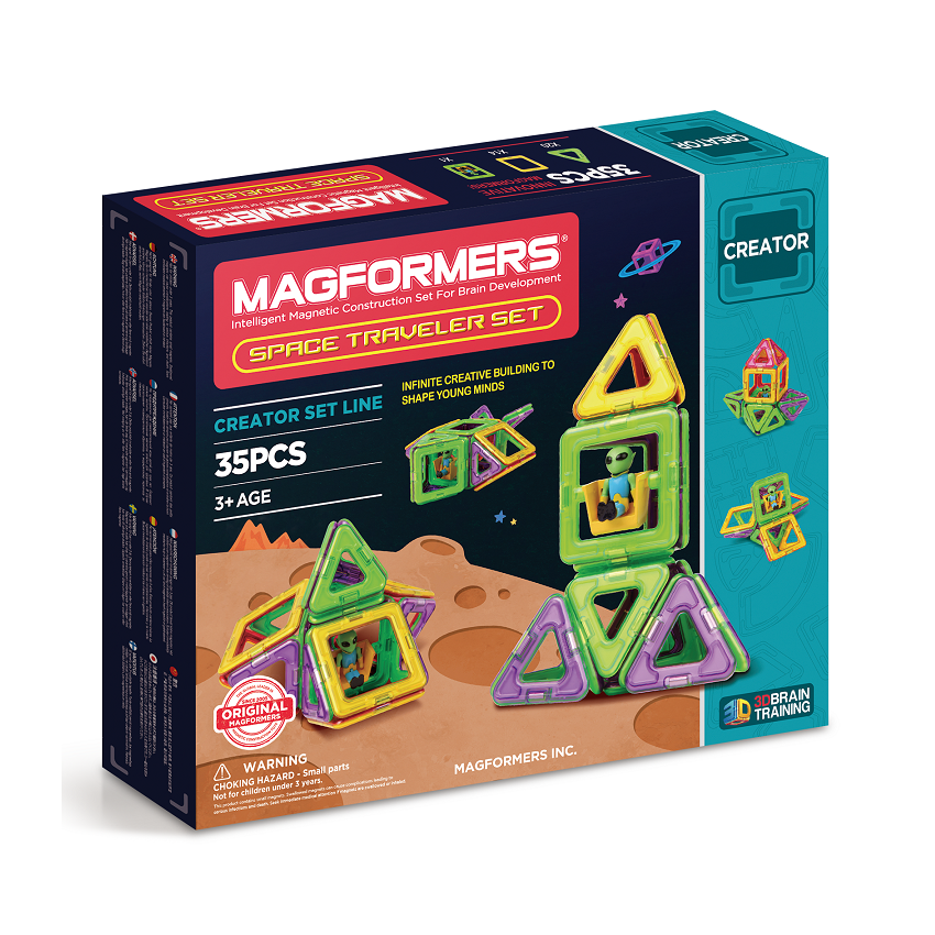 Magformers - Space Traveler Set 35pc