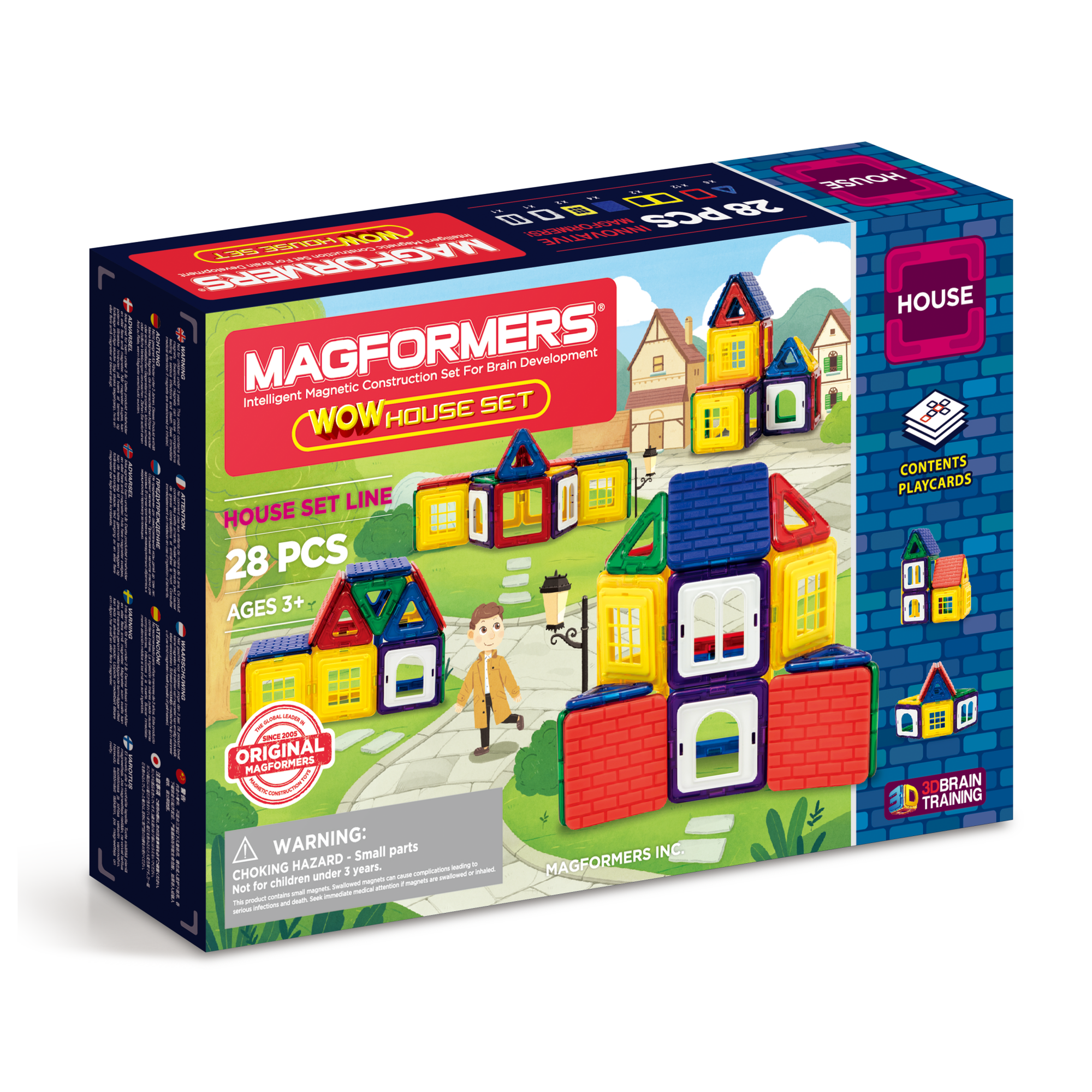 Magformers WOW House Set 28 Pc