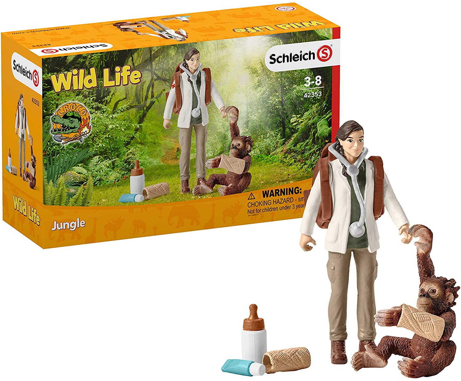 Schleich 42353 Vet at Work Set