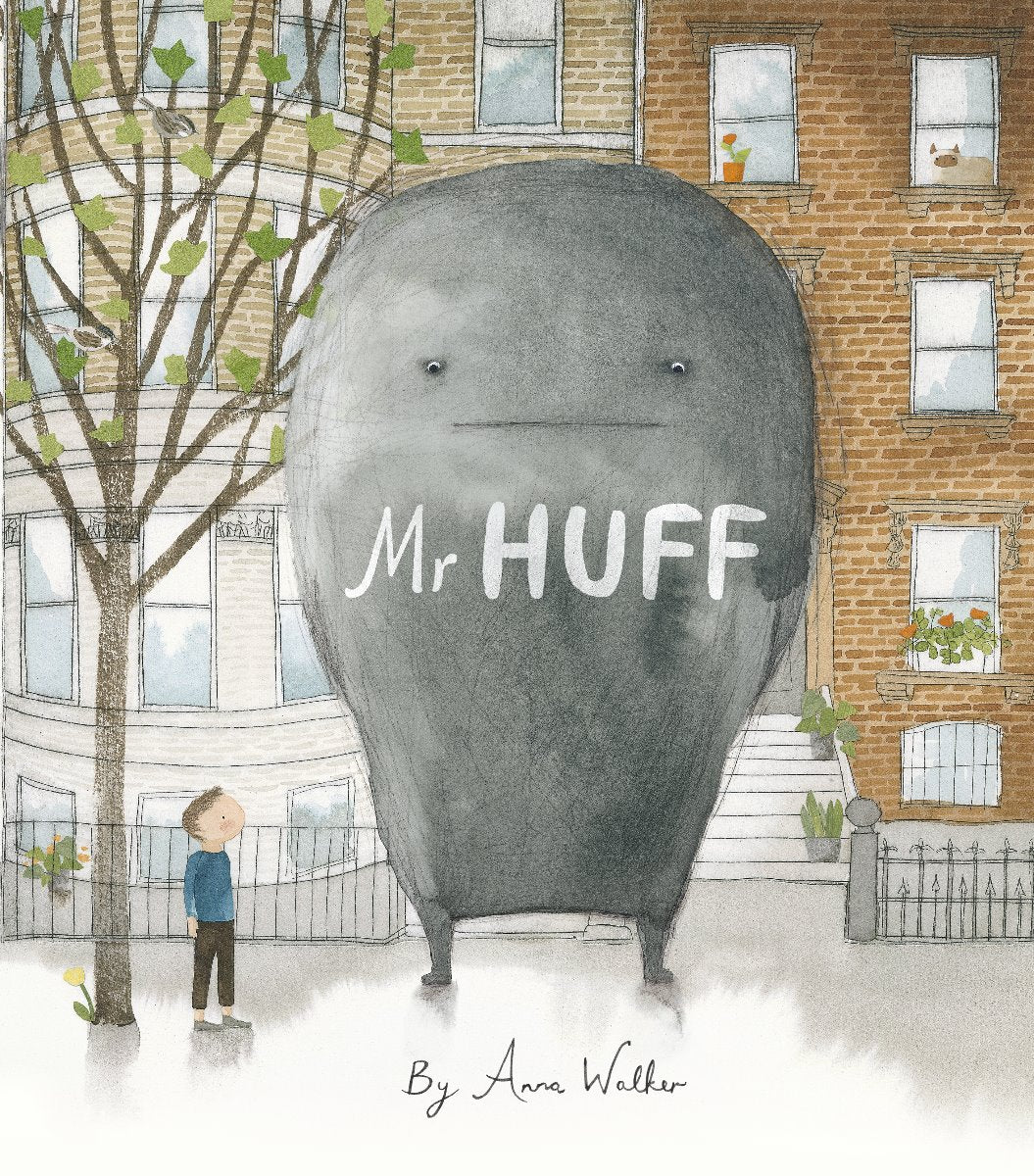 Mr Huff book by Anna Walker cover