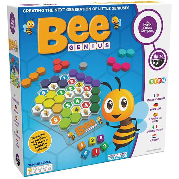 The Happy Puzzle Company Bee Genius Game