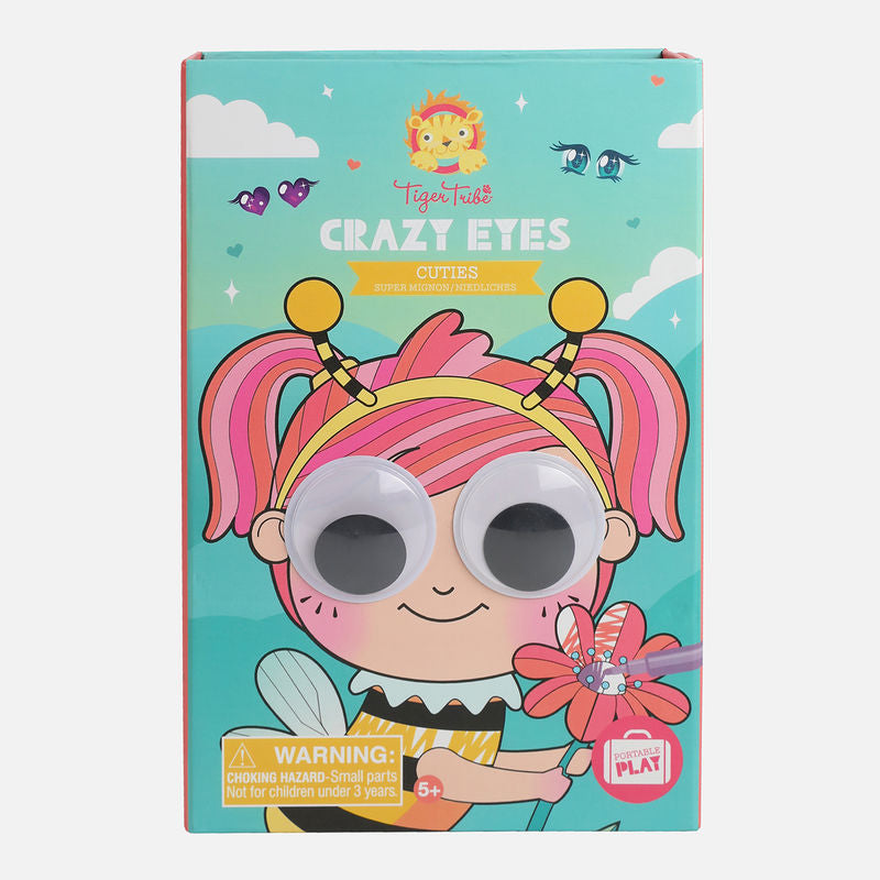 Tiger Tribe Crazy Eyes Cuties box