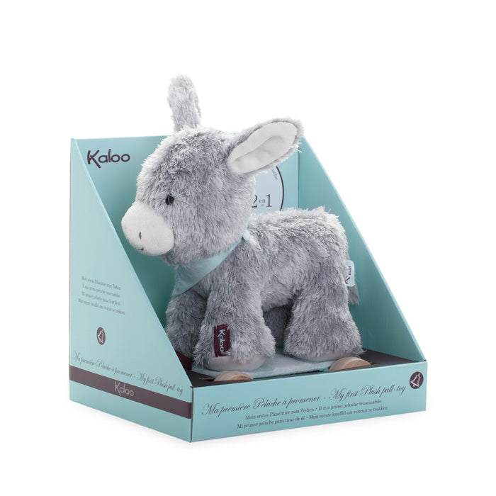 Kaloo Pull Along Donkey in Box