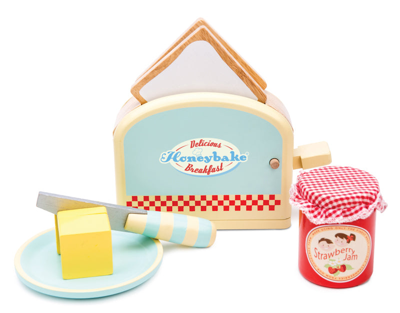 Le Toy Van Honeybake Toaster Set