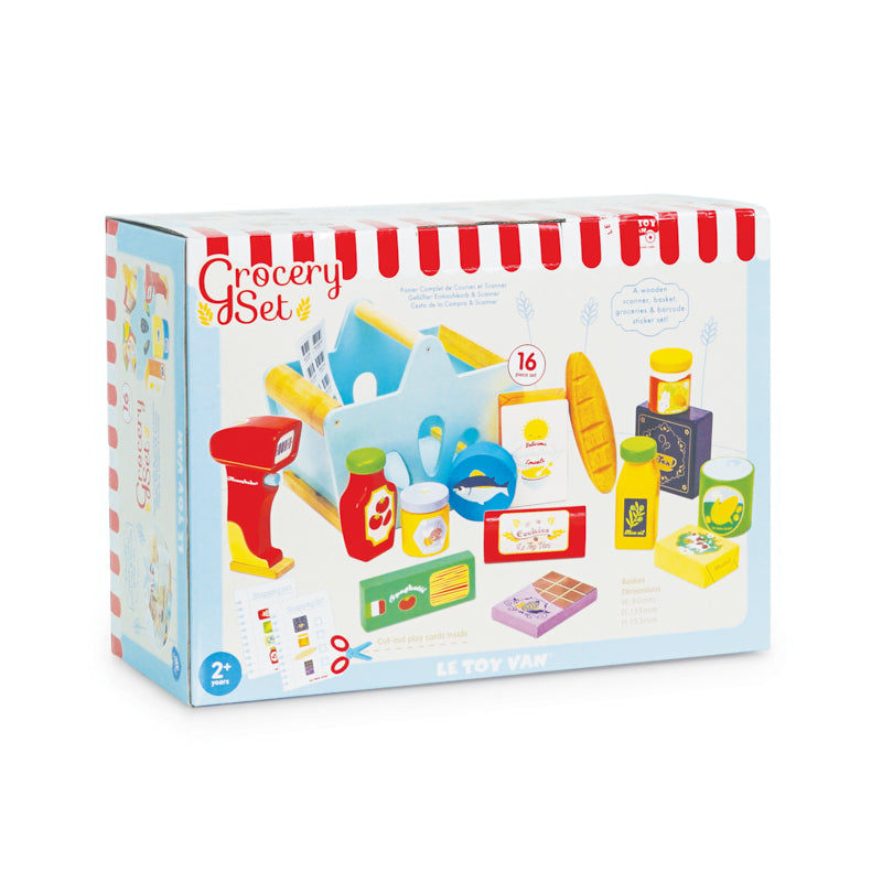 Le Toy Van Honeybake Grocery Set and Scanner