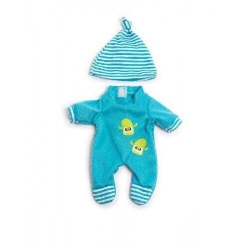 Miniland 21cm Blue Winter PJs set at Little Sprout