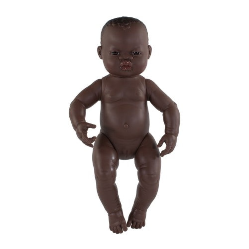 Miniland Doll 40cm Girl African Baby Girl