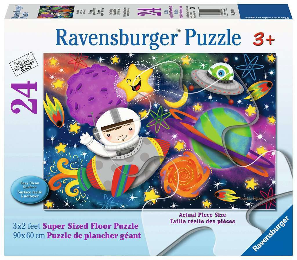 Ravensburger Space Rocket Puzzle Supersize 24 Pieces