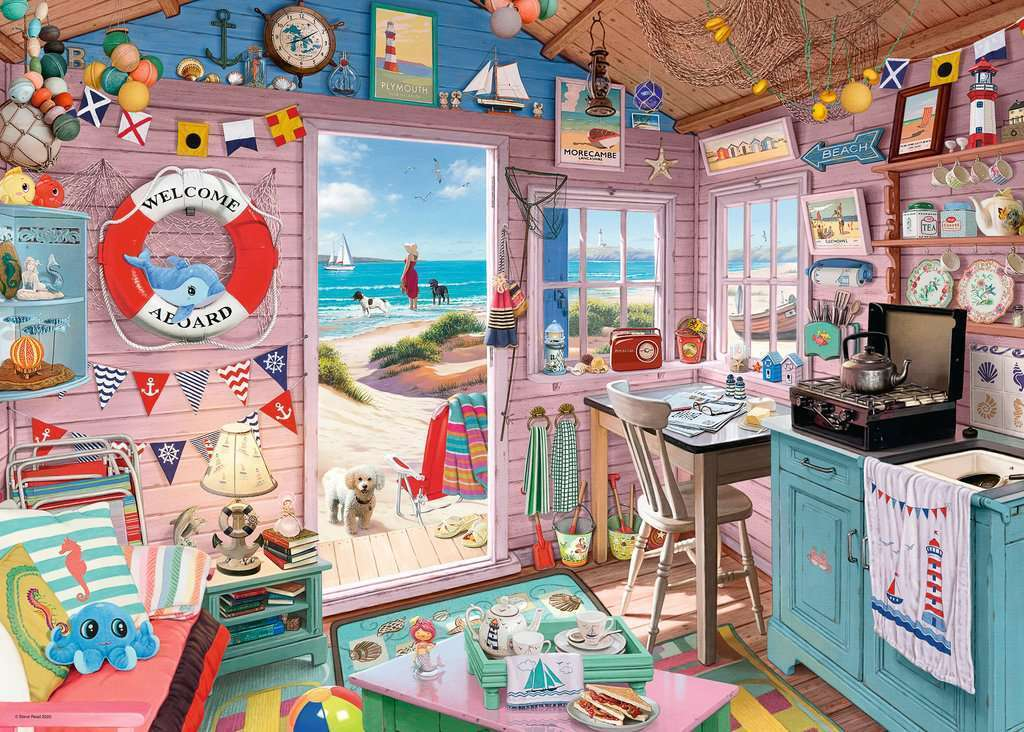 Ravensburger RB15000-7 My Haven No 7 - The Beach Hut