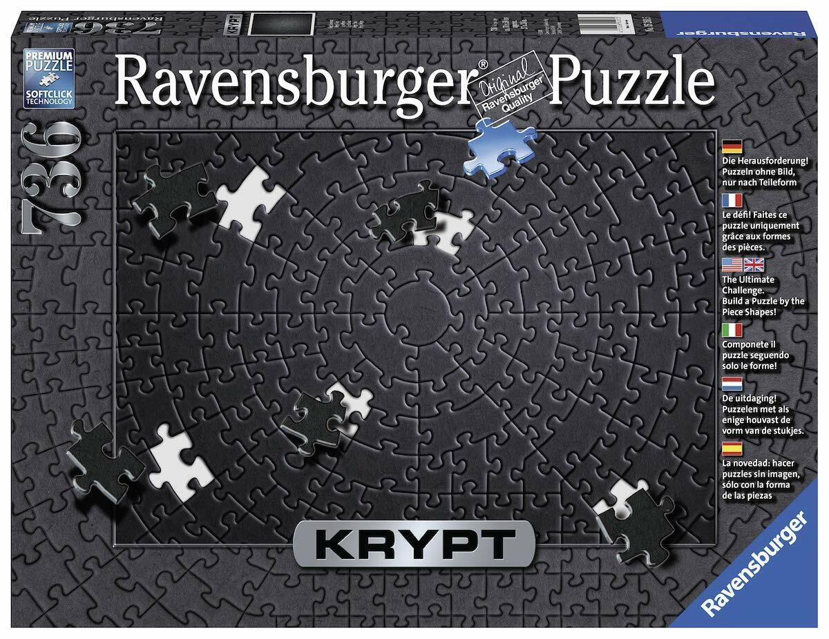 Ravensburger Black Krypt Puzzle 736 Pieces