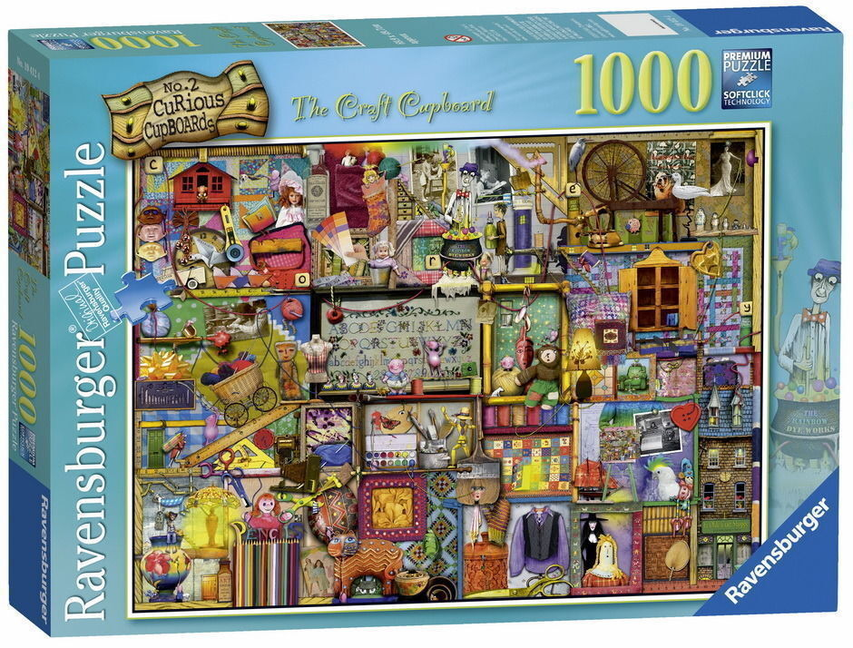 Ravensburger The Craft Cupboard Puzzle 1000 Pieces