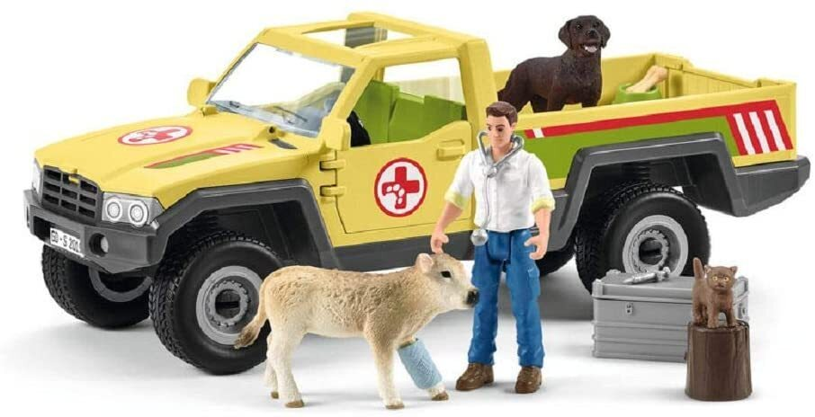 Schleich 42503 Vet Visits the Farm