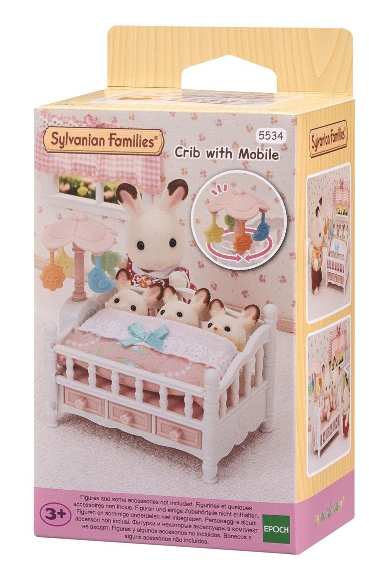 Sylvanian Families 5534 Crib with Mobile