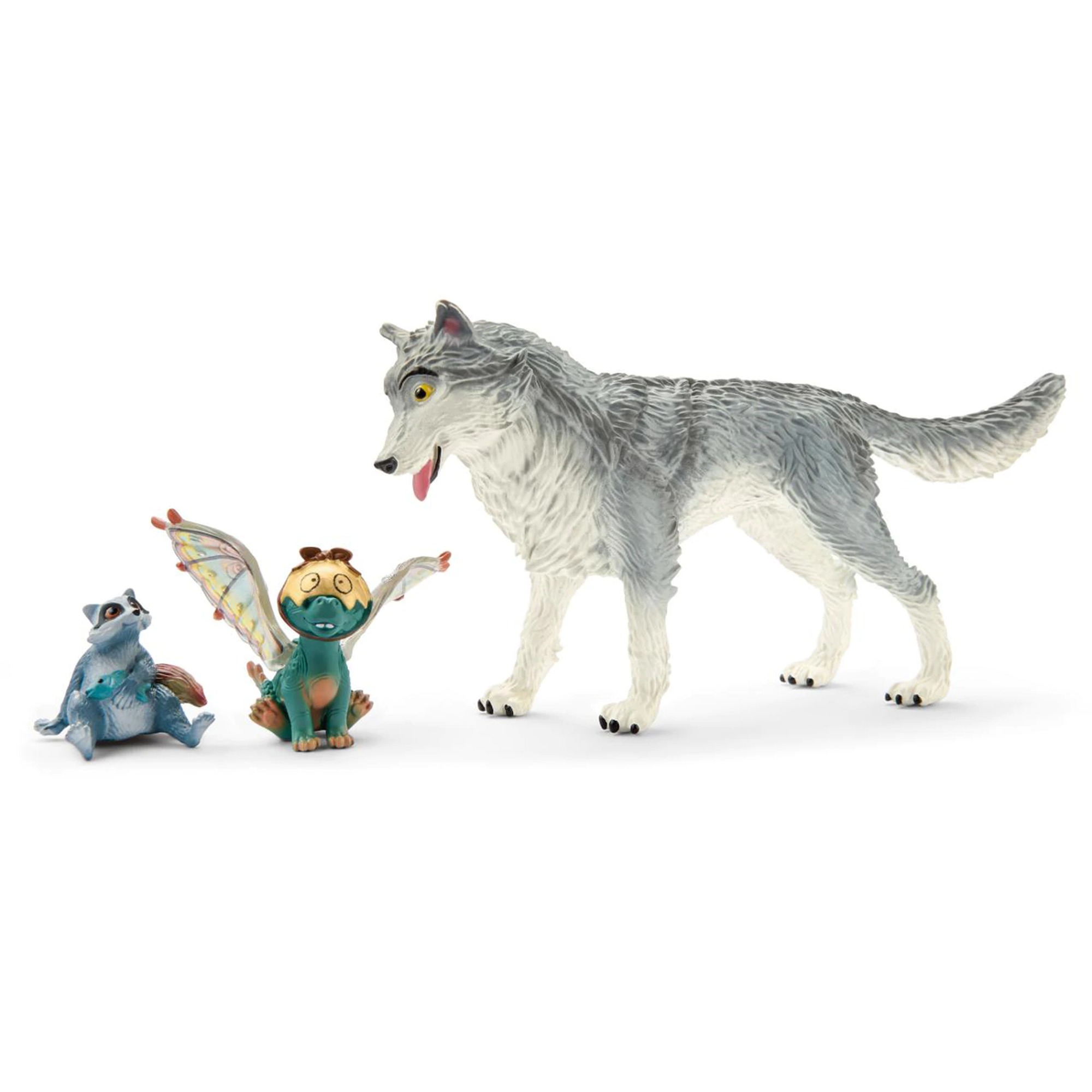 Schleich - 70710 Bayala the Movie Lykos Nugur and Piuh