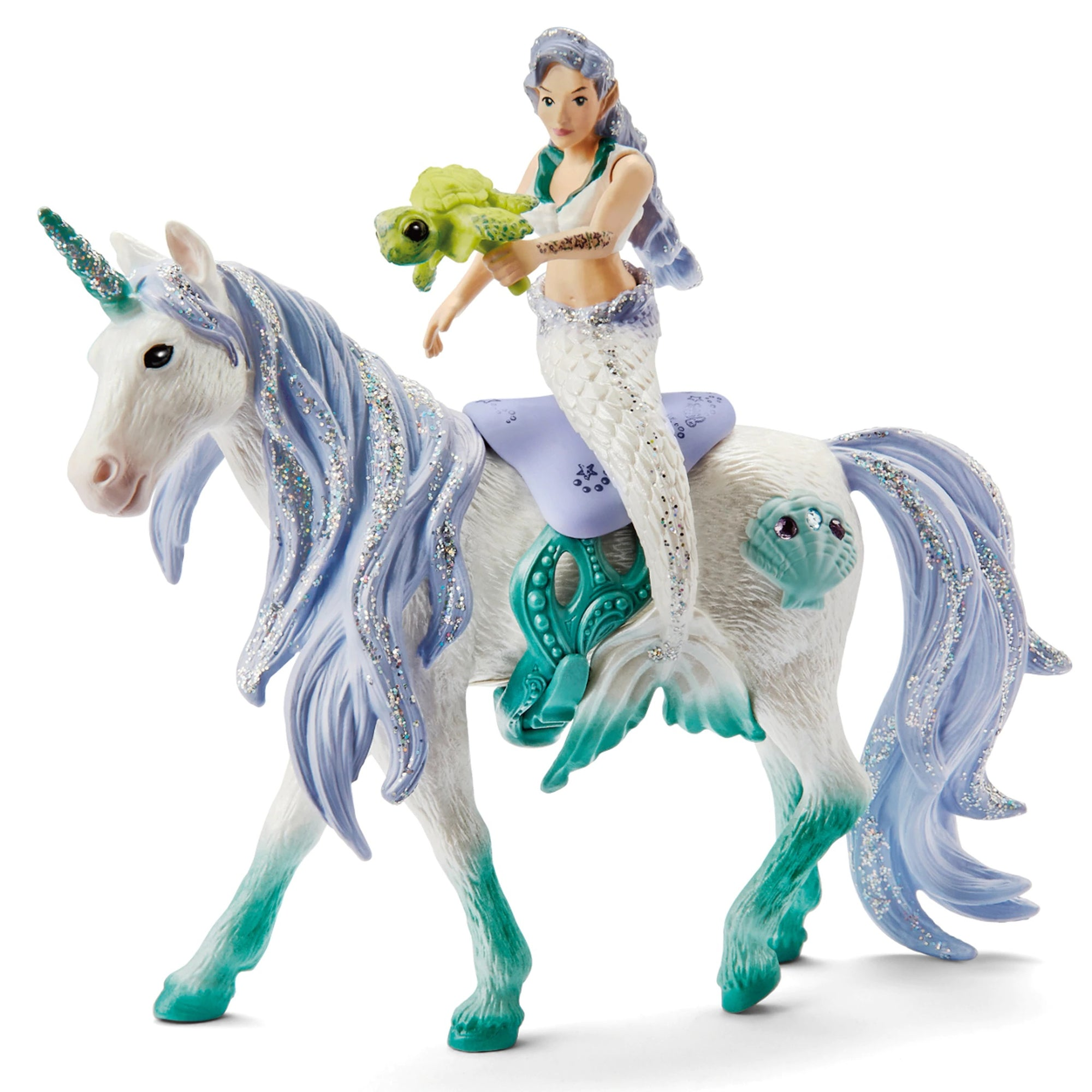 Schleich 42609 Mermaid Riding Sea Unicorn