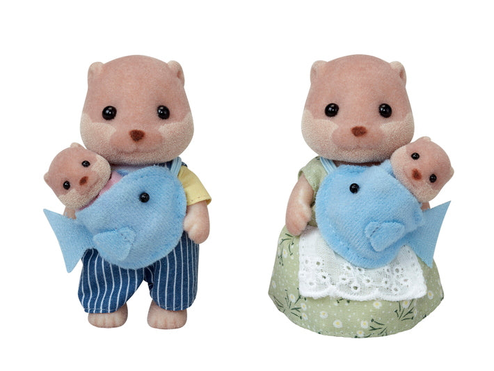Sylvanian Families 5359 Splashy Otter Family in box