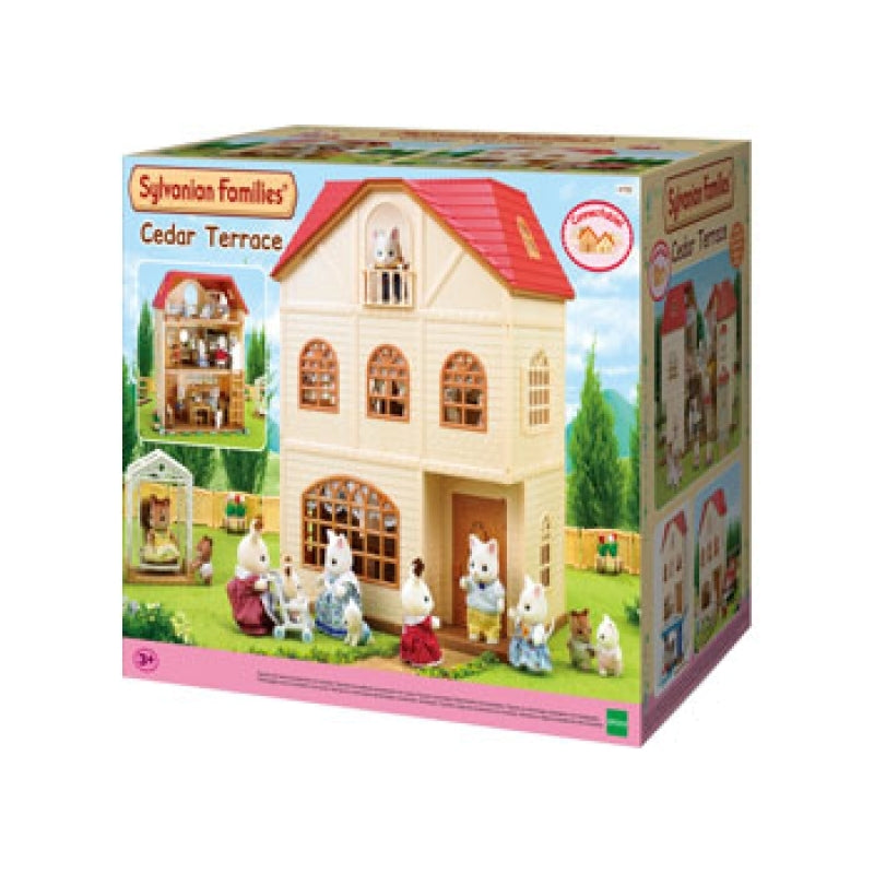 Sylvanian Families 4755 Cedar Terrace in box